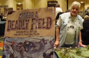 Picture of John Hill at war gaming conference