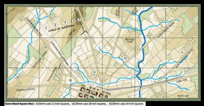 ET Gettysburg Terrain