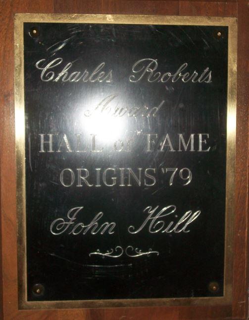 Charles Roberts Award ~ Hall of Fame Origins 1979 ~ John Hill