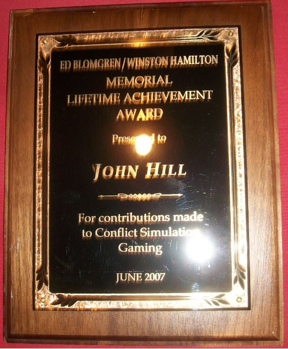 Memorial Lifetime Achievement Award 2007