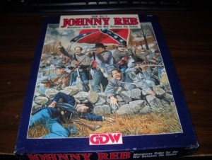 Johnny Reb by John Hill