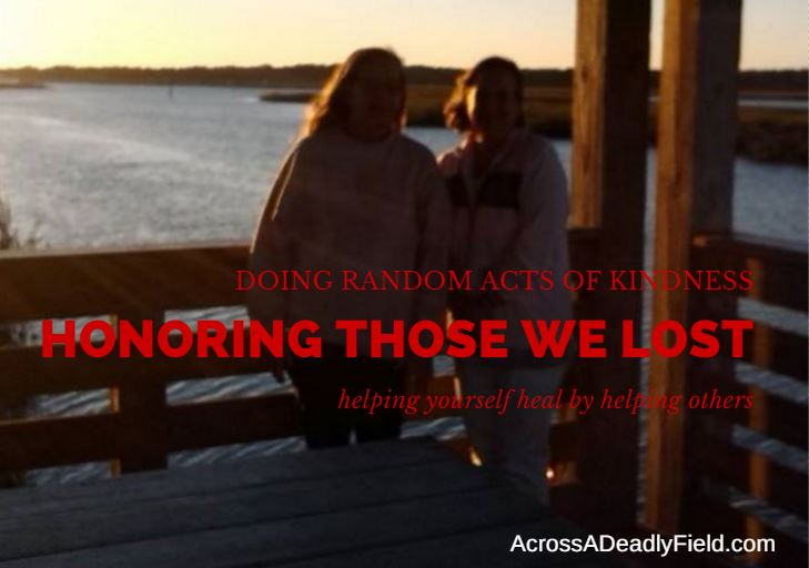 doing random acts of kindness